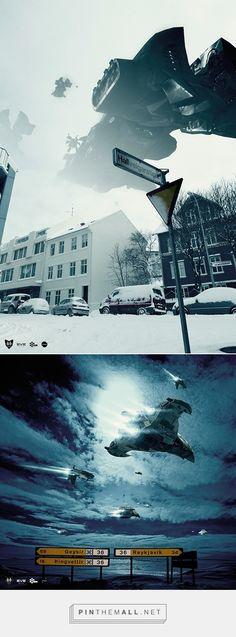 Reykjavik Invasion - Eve Online on Behance - created via http://pinthemall.net