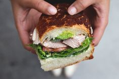 Roasted Turkey (on Dutch Crunch) - Arguello Super Market, San Francisco