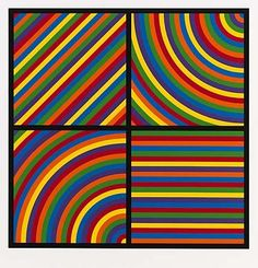 Smithsonian Collection: Color Bands by Sol LeWitt.