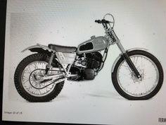 Trial Bike, Motocross Bikes, Trials, Husky, Motorcycle, Vehicles, Vintage, Dirt Biking, Bicycle