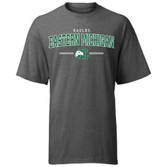 A-Game EMU Eastern Michigan 'Centered' Tee