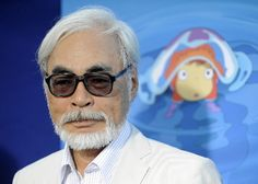 This amazing man is Hayao Miyuzaki, the founder of Studio Ghibli, producer of incredible movies known in the US such as Ponyo and Spirited Away, and   my favorite artist, besides Masashi Kishimoto.