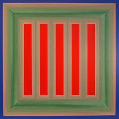 Richard Anuszkiewicz Joseph Albers, Warm And Cool Colors, Kinetic Art, Simple Art, Op Art, A Good Man, Color Patterns, Geometry, Cherry