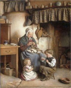 Joseph-Clarck-helping-grannie
