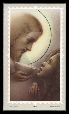 Catholic Pictures, Pictures Of Jesus Christ, Jesus Christ Painting, Jesus Art, Catholic Art, Religious Art, Vintage Holy Cards, Novena Prayers, Bride Of Christ