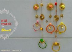 Diwali Decorations At Home, Indian Wedding Decorations, Festival Decorations, Diy Party Decorations, Flower Decorations, Diwali Craft, Diwali Diy, Diwali Party, Art N Craft