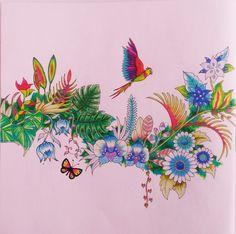 Magical Jungle Colouring book Johanna Basford