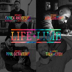 Life+Limb is a new podcast I just launched this week and I'd love for you to check it out at http://www.lifeandlimb.com The show featu...