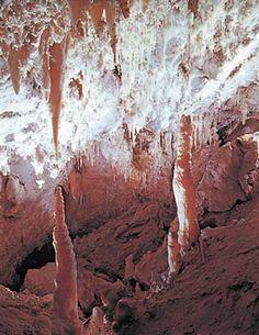 Inside Timpanogos Cave - American Fork Canyon above Alpine Utah