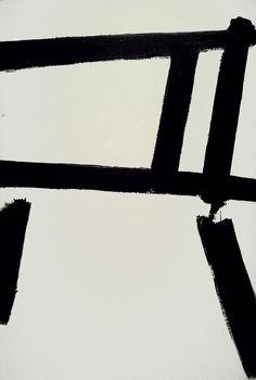 White Forms (1955) by Franz Kline