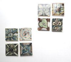 Ceramic ~art tile ~Ceramic tile ~hand painted tile ~Decorative tile ~Back splash tile ~hand painted tiles ~wall tiles ~deco tiles ~Tiles