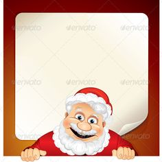 Santa List #GraphicRiver Blank Paper Sign and Santa Claus. - vector illustration, only simply linear and radial gradients used - no blends, gradient mesh used - vector available CMYK colors for print - pack include version AI, CDR, EPS, JPG Keywords: art, beard, character, cheerful, cute, design, empty, jolly, laughing, list, looking, loving, scroll, sheet, smiling, text, vectors, welcome CHRISTMAS COLLECTION. VECTOR CARDS, ICONS, ILLUSTRATIONS MORE VECTOR DESIGN ELEMENTS, TEMPLATES, LOGOS…