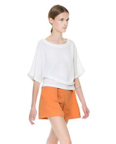 ZARA - WOMAN - BLOUSE WITH BUTTONS AT THE BACK
