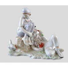 Скульптура Бездельники Автор: Малышева Н.А.