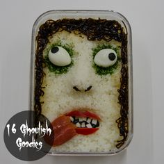 Pack a frighteningly nutritious lunch, bento style. #Halloween #food #DIY