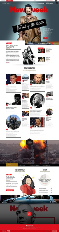 http://meganman.com/newsweek.htmlNewsweek was killing their magazine and challenged us to revive the iconic brand.With readership declining and the magazine in debt, the brand had nothing to loose and needed a fresh take. The brief was simple- create …