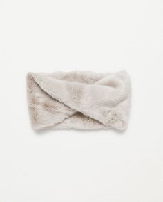 ZARA - WOMAN - FAUX FUR SNOOD
