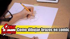 Como dibujar brazos en comic