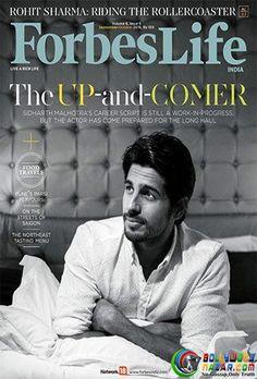 DEBONAIR SIDHARTH MALHOTRA LOOKS DASHING ON THE FORBES LIFE COVER  #Bollywoodnazar #SidharthMalhotra