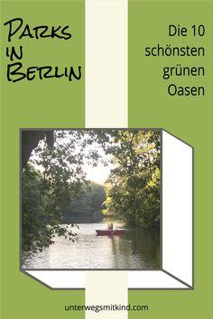 Wer in der grünen Stadt Berlin Parks einfach links liegen lässt, bringt sich nicht nur um ein paar grüne Atempausen beim Sightseeing, sondern auch um einen anderen Blick auf die pulsierende Metropole. Hier lernt ihr die 10 schönsten Parks in der Berliner City kennen und erfahrt welche Parks in Berlin nahe der Sightseeing-Highlights liegen und wo ihr schöne Parks in Berlin für Kinder findet. #parks #park #berlin #kinder #familien #ausflug #aktivitäten #wandern #spaziergang #berlinmitkind Reisen In Europa, Tricks, Parks, Baby, Traveling With Children, Travelling With Toddlers, Holiday Travel, Baby Humor
