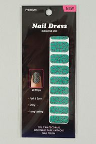 Nail Dress Diamond Line Nail Strips #urbanog LOOK 2
