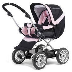Don't miss our colorful baby strollers. Get more decorating ideas at http://www.CreativeBabyBedding.com