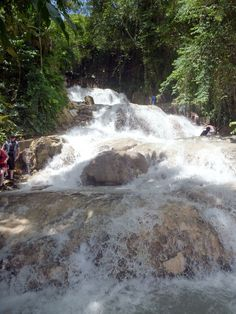 Dare to face #dunnsriverfalls ;) An all-inclusive activity of Couples Resorts