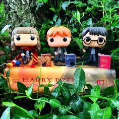 Harry Potter Toys, Harry Potter World, Ron And Hermione, Ginny Weasley, Hp Book, Book Nerd, Book Challenge, Best Friendship, Funko Pop Figures