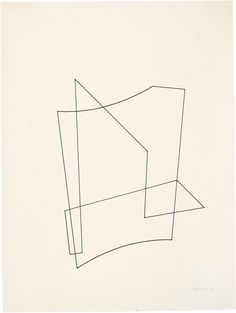Josef Albers, Linear construction, 1936