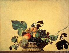 Michelangelo Merisi Caravaggio - The Fruit Basket