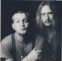 Layne & Jerry...love this pic of Layne