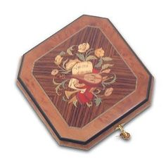 Gorgeous Grand Octagonal Musical Jewelry Box with Instrument Inlay (My Funny Valentine, Lorenz Hart/Richard Rogers) « Holiday Adds