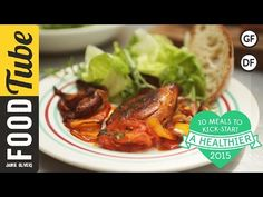 Healthy Traybaked Chicken Thighs   #10HealthyMeals   Kerryann Dunlop - YouTube