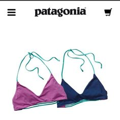 ISO‼️ Patagonia Mamala Reversible Bikini Top In search of a size small. Any color! Patagonia Swim