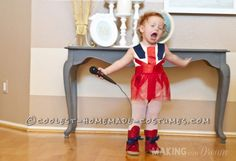 Cute Ginger Spice Toddler Costume... Coolest Homemade Costumes