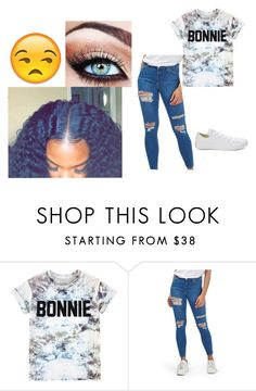 """""""..."""" by babygurl1066 ❤ liked on Polyvore featuring ElevenParis, Topshop and Converse"""