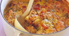 The ultimate in comfort food, this hearty chicken casserole will warm you up on cold winter nights.