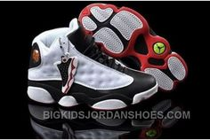 check out 2bd97 e96ca Sale For Sale Air Jordan 13 Xiii Retro Womens Shoes Online White Black 2016  New, Price   99.00 - Big Kids Jordan Shoes - Kids Jordan Shoes - Cheap  Jordan ...
