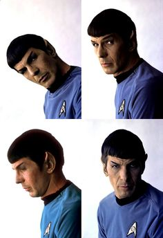 The expressions of the original Spock.