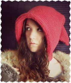 Ravelry: Tunisian Fantasy Hood pattern by Regina Weiss 12 ply free crochet Crochet Woman, Diy Crochet, Crochet Hats, Crochet Ideas, Knitted Hats, Hood Pattern, Free Pattern, Tunisian Crochet Patterns, Crotchet Patterns