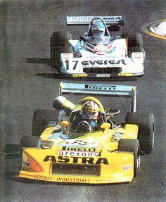 39 - Piero Necchi - March 782 BMW/Osella - Astra Racing (Forti Corse SRL) - 17 - Giancarlo Martini - Chevron B40 BMW - Everest Racing Team
