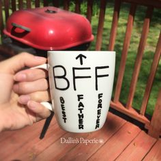 A personal favorite from my Etsy shop https://www.etsy.com/listing/293082447/personalized-mug-fathers-day-gifts-funny