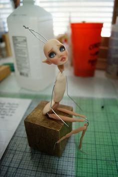 Doll Tears OOAK Dolls: WIP's of my latest dolls