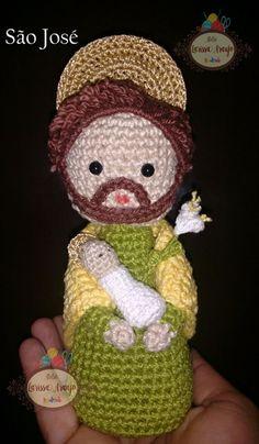 Crochet Dolls, Crochet Hats, Plushies, Snowflakes, Catholic, Origami, Madonna, Santa, Teddy Bear