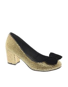 ASOS SWEETIE PIE Sequin Heels