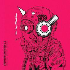 Mercenary Garage: Auto Pilot  #Mulo #Y3LL #AutoPilot #SouthernSanitarium #Mercenary #MercenaryGarage Mode Cyberpunk, Cyberpunk Kunst, Cyberpunk Anime, Cyberpunk Aesthetic, Character Concept, Character Art, Concept Art, Science Fiction Kunst, Tech Art