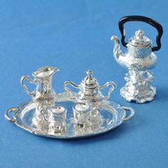 8-Pc Silver Coffee Set