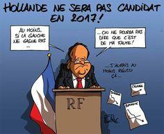 Oli (2016-12-02) France: L'humeur dans Sudinfo.be ! François Hollande ne se présentera pas comme candidats au élections présidentielles de 2017 en France !