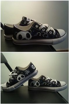 Cute panda cartoon shoes