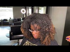 HER REACTION IS PRICELESS! THE REASON WHY I LOVE WHAT I DO! - YouTube Natural Hair Blowout, Natural Curls, Curly Hair Styles, Natural Hair Styles, Hair Cutter, Silk Press, Flat Iron, Rollers, Hair And Nails